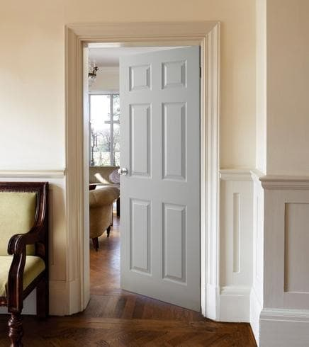 Six Panel Grained Door